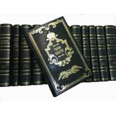 Гении власти книги в кожаном переплете