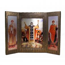 Русские святые. Иконостас-складень
